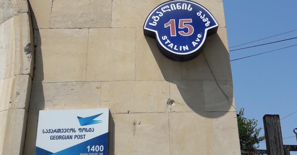 Avenida Stalin, em Gori