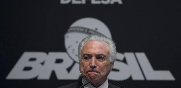 Presidente Michel Temer receberá governadores de todo o país - Mauro Pimentel/AFP Photo