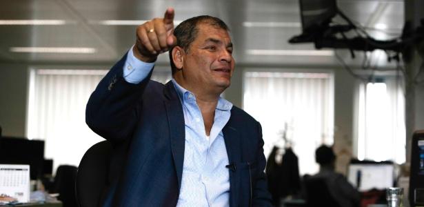 Rafael Correa é acusado de envolvimento no sequestro de um opositor na Colômbia - Aris Oikonomou/AFP