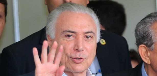Michel Temer participa de campanha de vacinação em Goiânia, no dia 10 de agosto