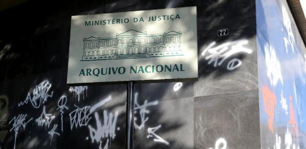 Prédio anexo do Arquivo Nacional, que guarda 90% do acervo - WILTON JUNIOR/ESTADÃO