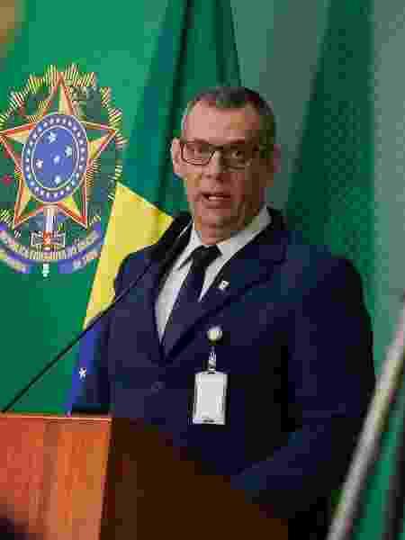 16.abr.2019 - Pronunciamento do Porta-Voz, general Otávio Rêgo Barros - Anderson Riedel/PR
