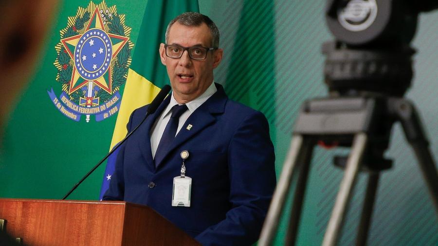 Pronunciamento do Porta-Voz, general Otávio Rêgo Barros - Anderson Riedel/PR