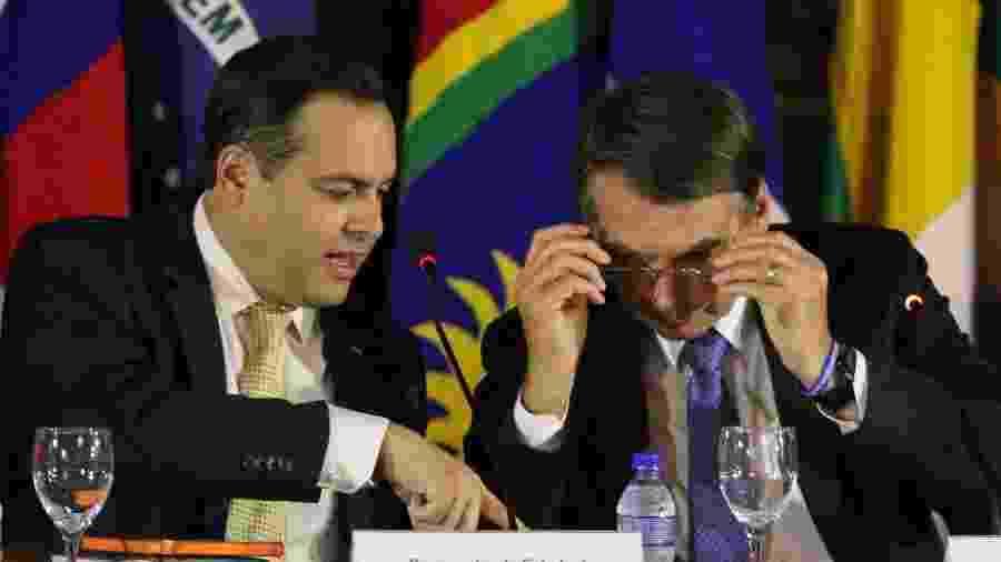 24.mai.2019 - O governador de Pernambuco, Paulo Câmara (PSB), e o presidente Jair Bolsonaro (PSL), durante reunião do conselho da Sudene - MARLON COSTA/FUTURA PRESS/FUTURA PRESS/ESTADÃO CONTEÚDO