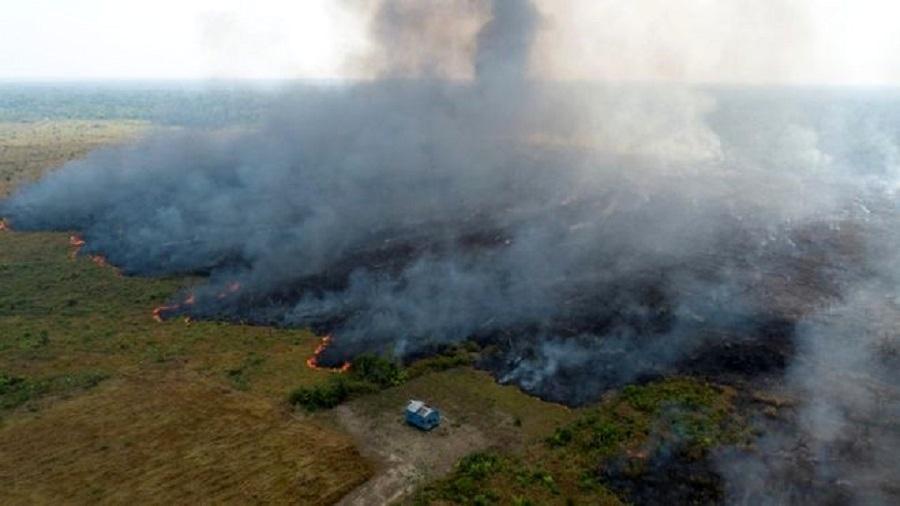 """O chamado """"Dia do Fogo"""" ocorreu em 10 de agosto deste ano - Reuters"""
