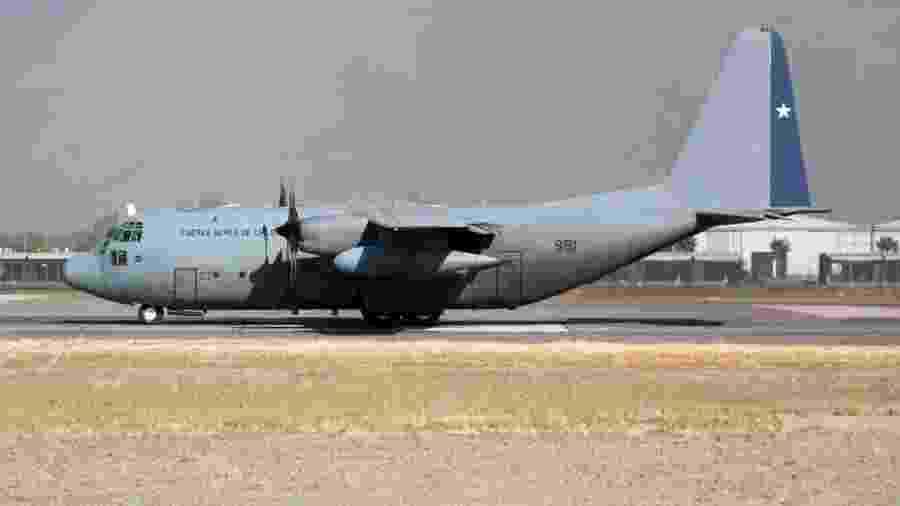 Força Aérea do Chile opera três aviões C-130, modelo da aeronave que despareceu no dia 9de dezembro - Getty Images