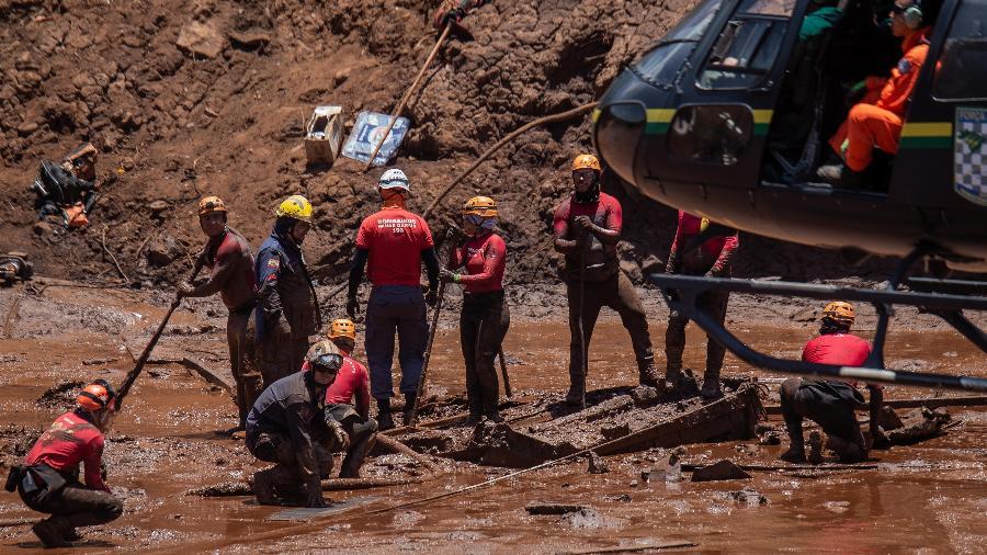 A barragem da Vale rompeu no dia 25 de janeiro de 2019 - WASHINGTON ALVES