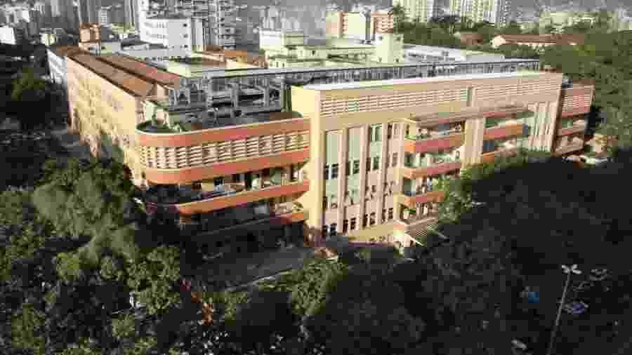 O Hospital Universitário Pedro Ernesto, da Uerj, localiza-se na região do Maracanã, na zona norte do Rio de Janeiro - Divulgação/Uerj