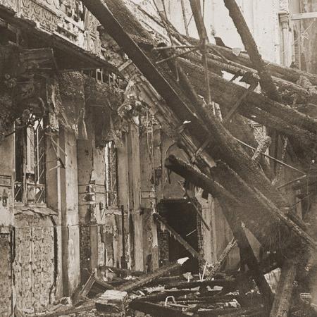 Sinagoga destruída por nazistas na Alemanha na Noite dos Cristais - BBC