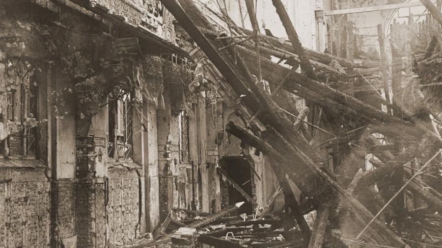 Sinagoga destruída na Alemanha na Noite dos Cristais; locais eram ?símbolos da identidade judaica? - BBC