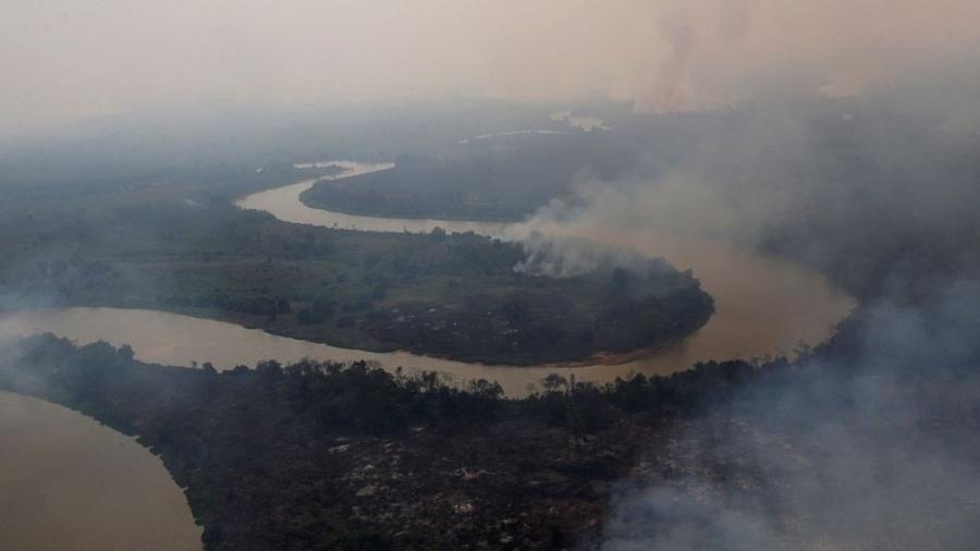 Destruição do Pantanal pelas queimadas chegou a quase 3 milhões de hectares - Reuters