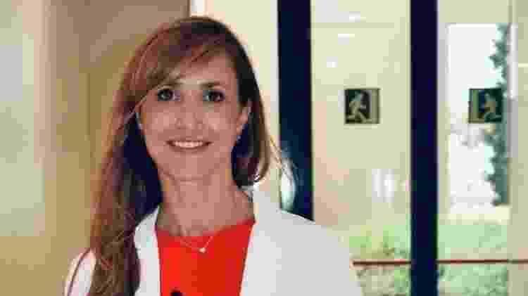"""Médica Adriana Izquierdo Domínguez: """"Há muitos pacientes com covid-19 que estamos atendendo na consulta que estão na clínica há quatro ou cinco meses e ainda não recuperaram o cheiro ou o recuperaram muito parcialmente"""". - Arquivo Pessoal - Arquivo Pessoal"""