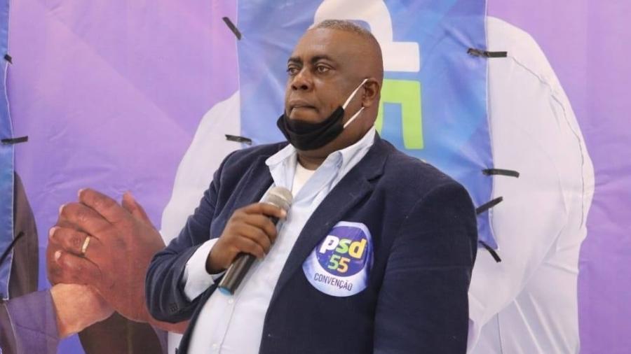 André Antônio Lopes do Nascimento, o Sargento Lopes, candidato à prefeitura de Magé (RJ) - Reprodução/ Instagram