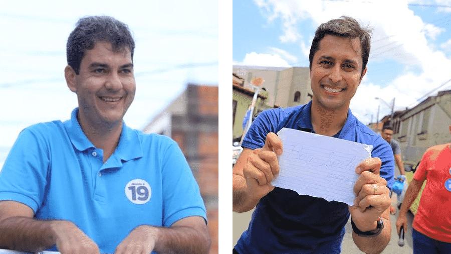 Eduardo Braide (Podemos) e Duarte Jr. (Republicanos) disputam a Prefeitura de São Luís  - Reprodução/Facebook/Arte-UOL