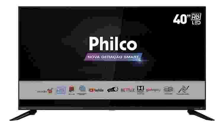 """Smart TV D LED 40"""" PHILCO - Divulgação - Divulgação"""