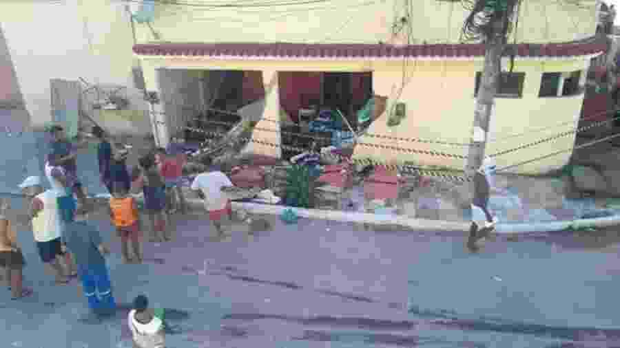 Explosão de botijão de gás feriu uma família no RJ - Divulgação/Prefeitura de Duque de Caxias