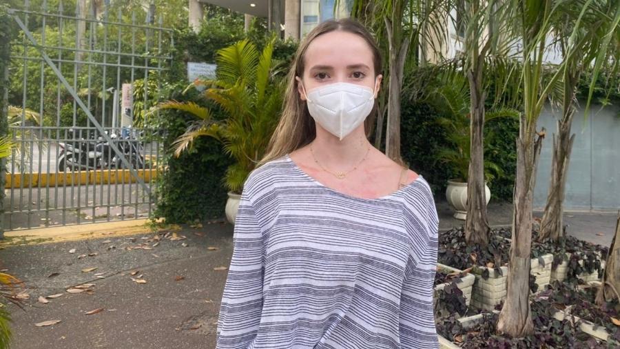 A estudante Alexia Nascimento, 22, quer prestar medicina e se diz uma privilegiada no Enem - Tatiana Campbell/UOL