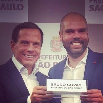Joao Doria e Bruno Coffas - Riproduzione / Instagram