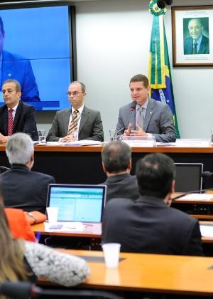 Sessão realizada em novembro da CPI do BNDES
