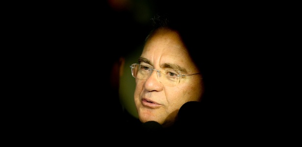O presidente do Senado, Renan Calheiros: derrota de aliado dificulta alianças para 2018