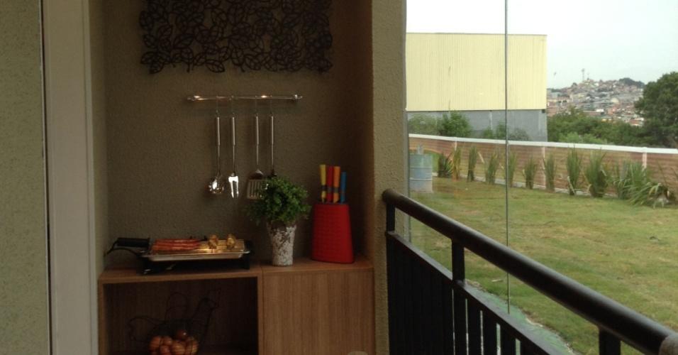 Apartamento da Danpris Construtora oferece varanda gourmet. O empreendimento está em construção na avenida João Paulo II, 267 - Padroeira, Osasco, Grande São Paulo