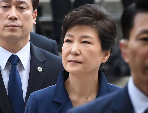 A ex-presidente da Coreia do Sul, Park Geun-Hye, em foto de arquivo