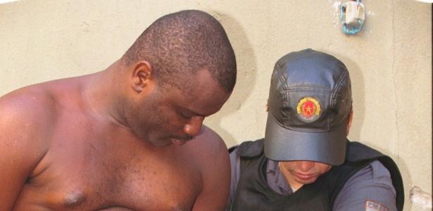 O traficante Marco Antônio Pereira Firmino da Silva, o My Thor, foi preso no ano 2000