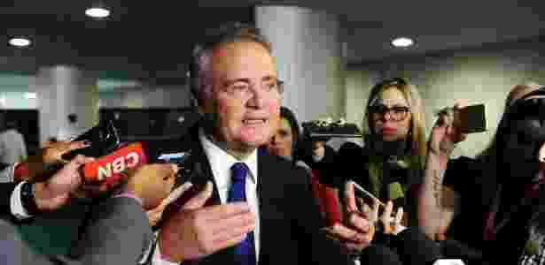 O líder do PMDB no Senado, Renan Calheiros (AL), criticou o governo Temer em entrevista - Jonas Pereira/Agência Senado