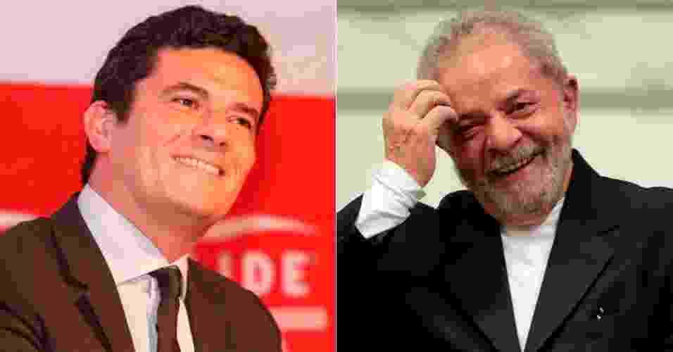 06 -  Lula x Moro - Arte/UOL