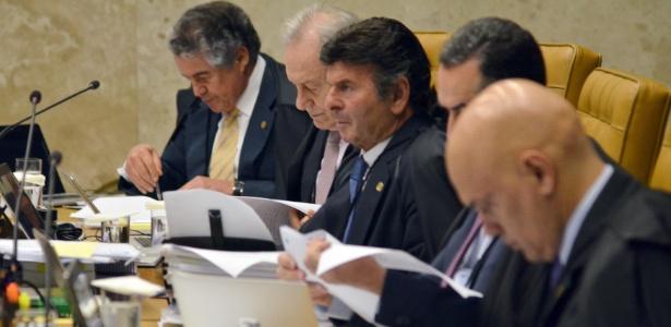 O salário dos ministros do STF representa o teto do funcionalismo público