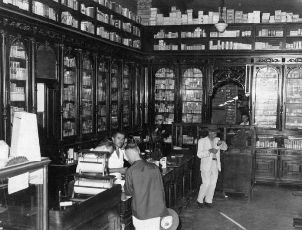 Droga Raia em Araraquara, em 1940