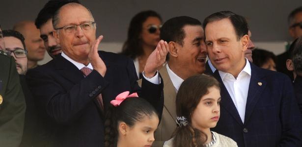 Alckmin e Doria participam de desfile da Independência em São Paulo