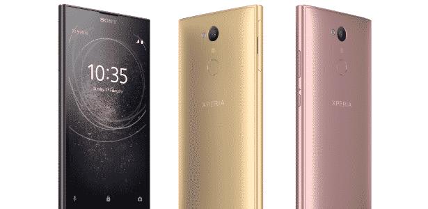 Xperia L2 - lançamento da Sony na CES 2018 - Divulgação - Divulgação