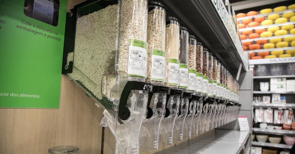Grãos a granel na Zôdio
