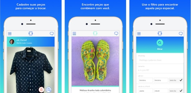App Roupa Livre incentiva encontros entre quem quer trocar roupas
