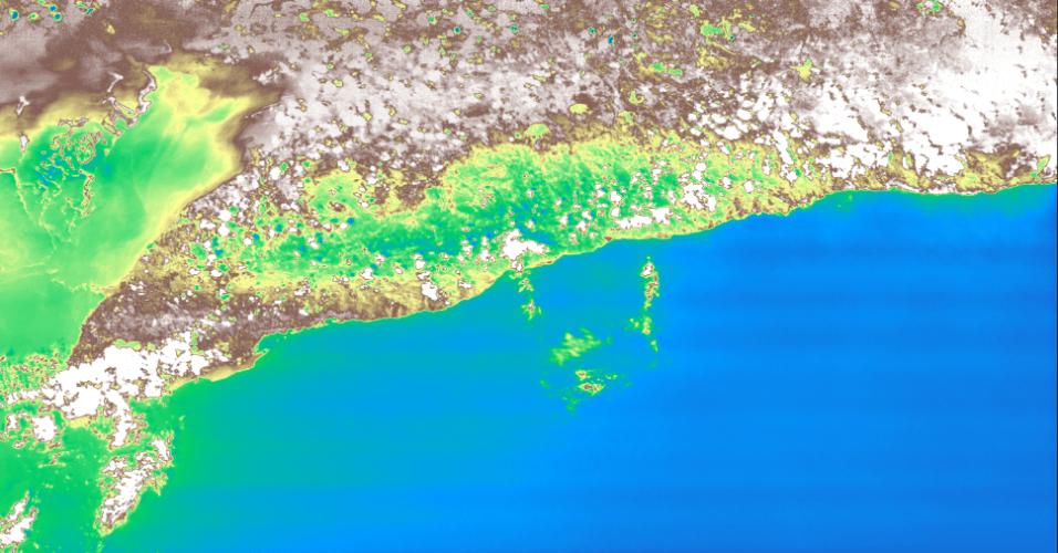 MINICÂMERA ESPACIAL - Dois meses depois de ter sido lançada ao espaço, a primeira minicâmera espacial hiperespectral capturou imagens de Cuba e Escócia. A HyperScout é capaz de fazer imagens hiperespectrais, com um filtro que separa a luz em 45 comprimentos de onda, onde cada uma corresponde a diferentes cores do arco-íris. Em comparação, uma câmera normal só divide a luz em três tons: vermelho, verde e azul. A câmera começou seu trabalho como instrumento a bordo de um nanossatélite, o CubeSat GomX-4B, que foi lançado em fevereiro pela ESA (Estação Espacial Europeia)