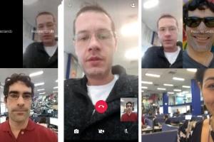 Testamos o vídeo em grupo do WhatsApp, mas recurso ainda traz falhas (Foto: Reprodução)