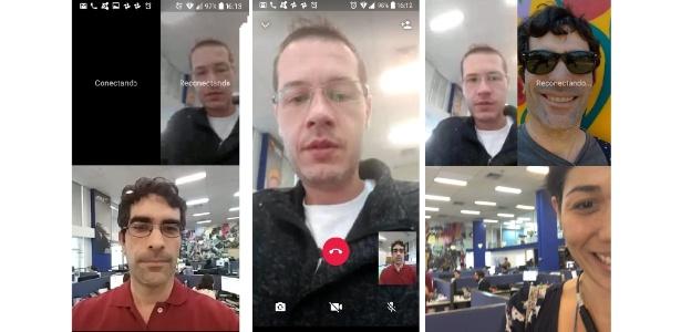 Testes com ferramenta de conversa de vídeo em grupo do WhatsApp - Reprodução