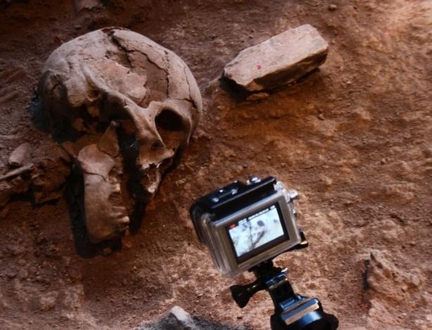 Os esqueletos encontrados na Lapa do Santo indicam que os povos que viviam ali eram muito mais complexos do que se imaginava - André Strauss/Divulgação