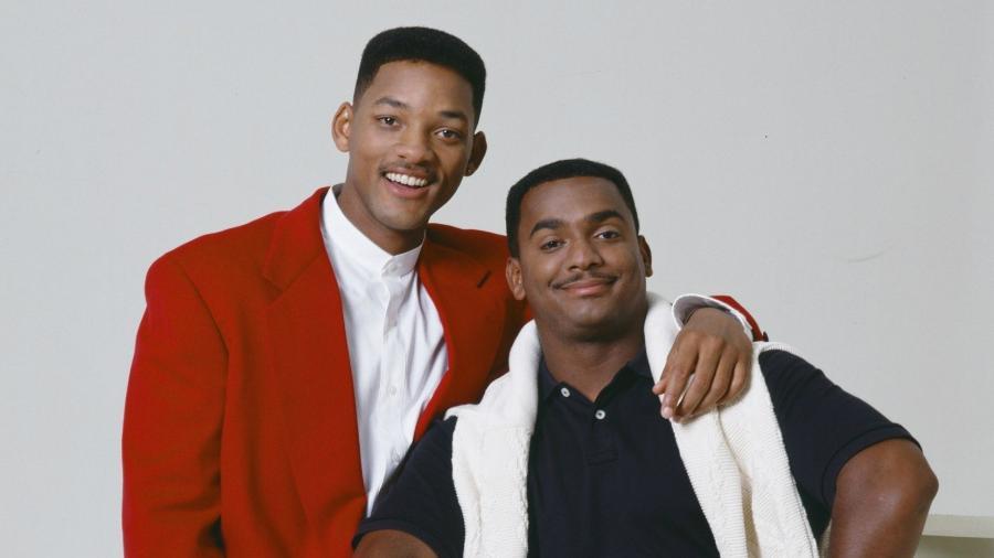 """Will Smith se reúne com Carlton de """"Um Maluco no Pedaço"""" - Reprodução"""