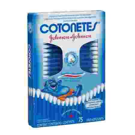 Marca Cotonetes deve ser vendida por causa de mudança de estratégia da Johnson & Johnson - Reprodução