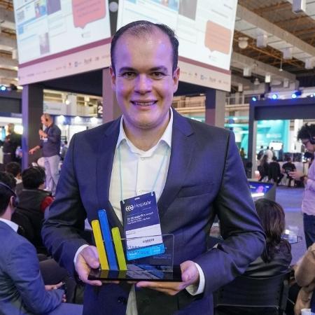 Higor Falcão, dono da startup Aptah: malas prontas assim que conseguir parceria no Canadá - Arquivo pessoal