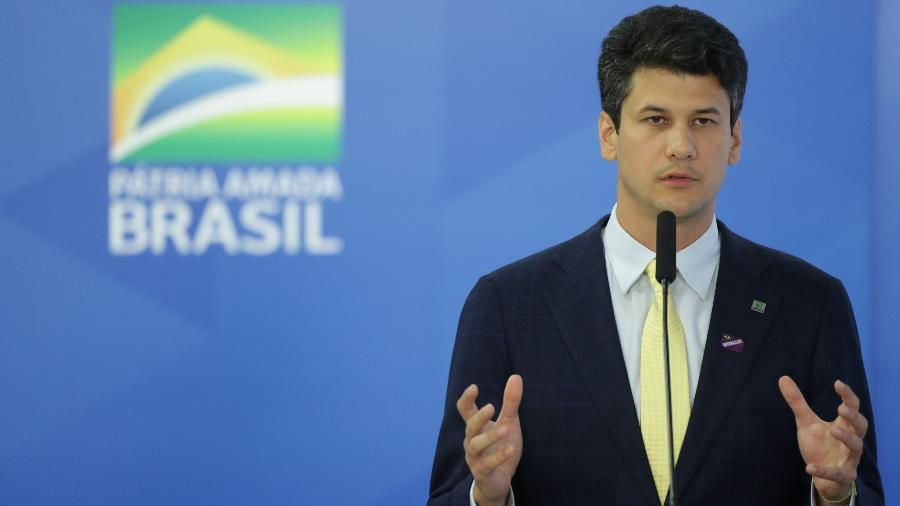 16.jul.2019 - Posse do presidente do BNDES, Gustavo Montezano, no Palácio do Planalto, em Brasília - Gabriela Biló/Estadão Conteúdo