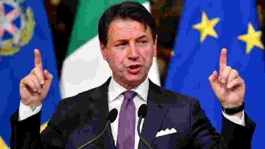 Medida entra em vigor amanhã e valerá provisoriamente até 3 de abril, anunciou Giuseppe Conte - EPA