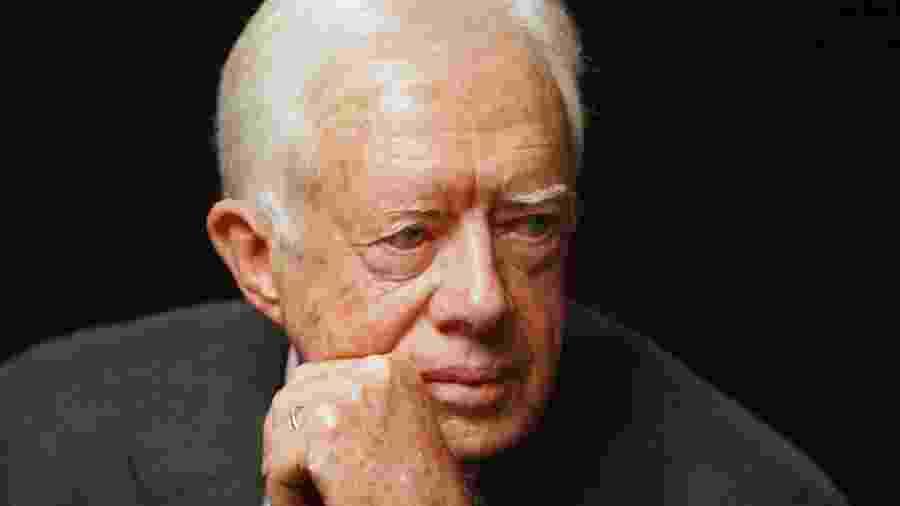 Ex-presidente americano Jimmy Carter fez uma cirurgia para aliviar a pressão no cerébro - Ammar Awad - 13.abr.2008 / Reuters