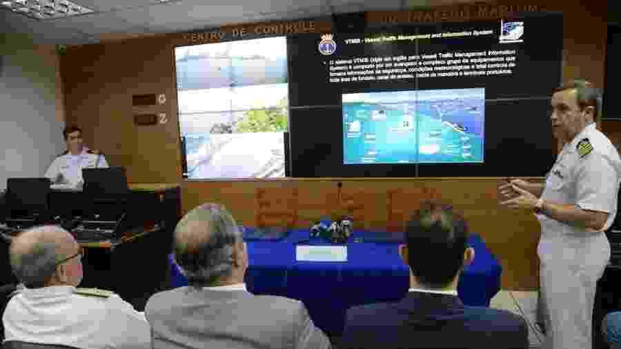 Instalações do Cismar (Centro Integrado de Segurança Marítima) - Fernando Frazão/Agência Brasil