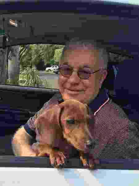 O corretor de imóveis Luiz Milton Leonardo de Almeida, falecido em 2017, cujo apelido era Cabeça Branca - Arquivo pessoal
