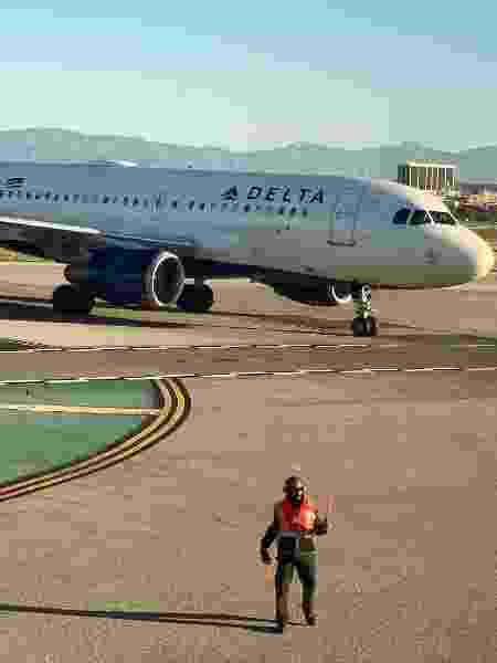 Avião da Delta Air Lines em Los Angeles, nos Estados Unidos - Lucy Nicholson/Reuters