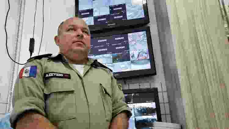4.fev.2020 - Tenente-coronel Carlos Azevedo, diretor do colégio da PM (Polícia Militar) em Maceió - Carlos Madeiro/Colaboração para o UOL - Carlos Madeiro/Colaboração para o UOL