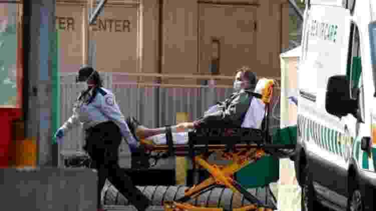 Sobrecarga que leva a mais mortes em casa foi sentida em lugares como Londres e Nova York - Getty - Getty